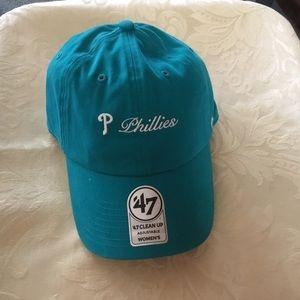 Phillies '47 Women's Teal Adjustable Baseball Cap